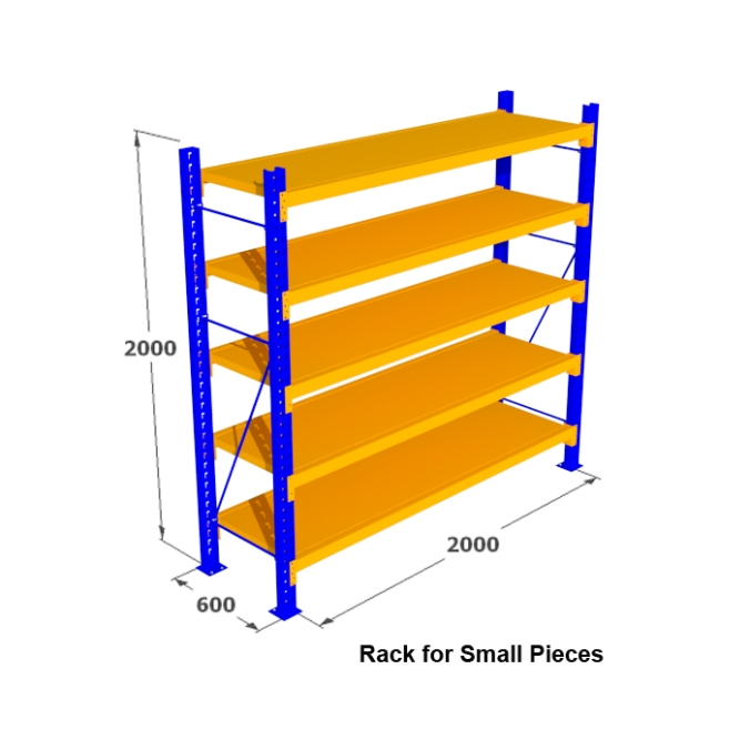 5. Rak Medium Duty for Small Pieces Rack